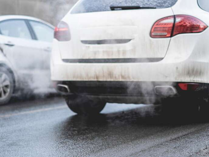 Remote-sensing technology to detect emissions from passing cars