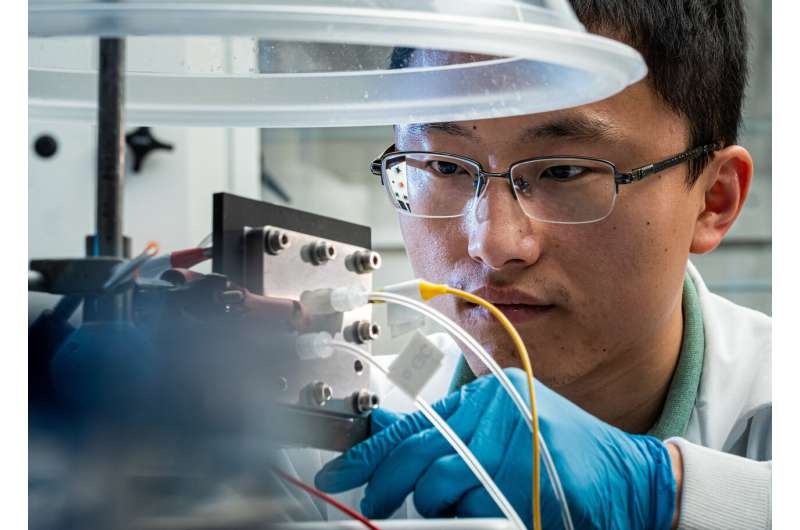 Rice reactor turns greenhouse gas into pure liquid fuel