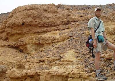 Saharan paleontology study reveals extremes of science research for ISU's Leif TapanilaPOCATELLO – Leif Tapanil