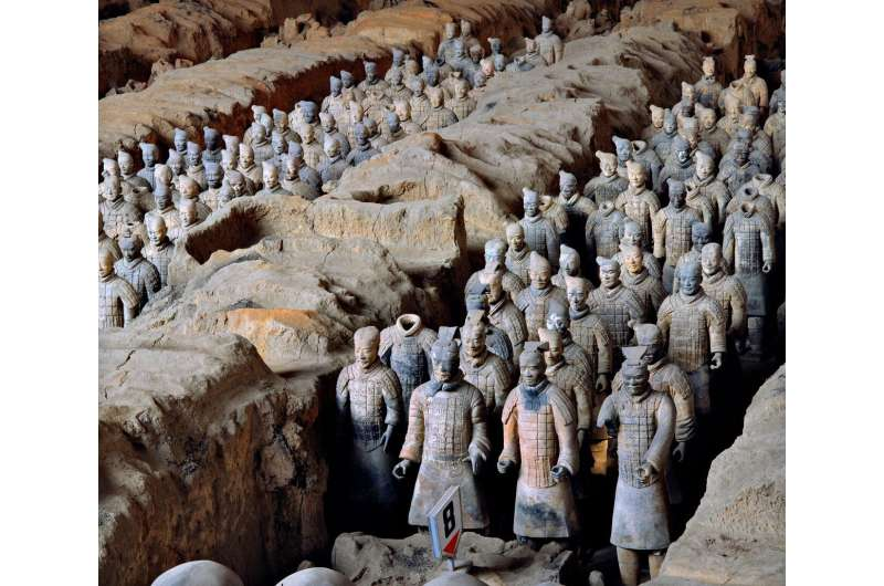Scientists shed light on preservation mystery of Terracotta Army weapons