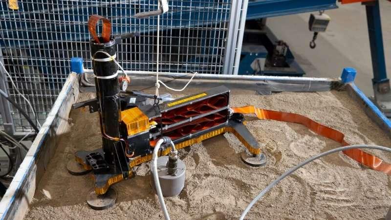 Slow progress: NASA's still trying to get inSight's Mole working again