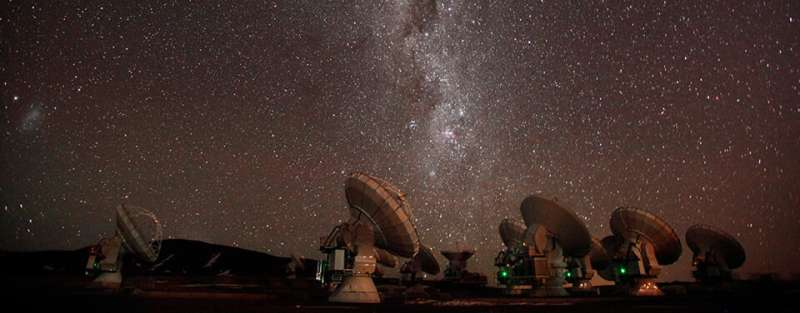 Stellar wind of old stars reveals existence of a partner