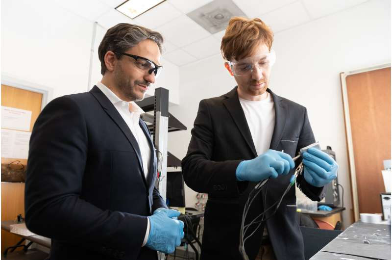 Stretchy plastic electrolytes could enable new lithium-ion battery design