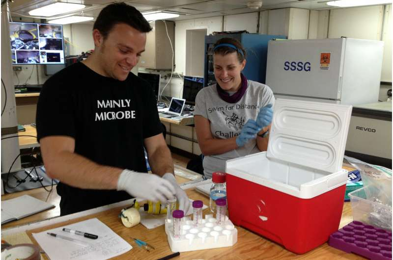 Study shows unusual microbes hold clues to early life