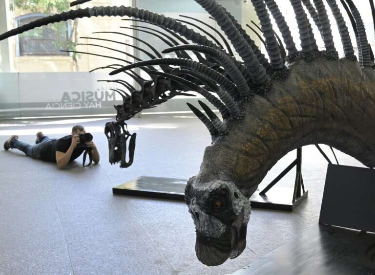 The Bajadasaurus pronuspinax had a spiny neck and backbnone believed to have been a defense mechanism against predators