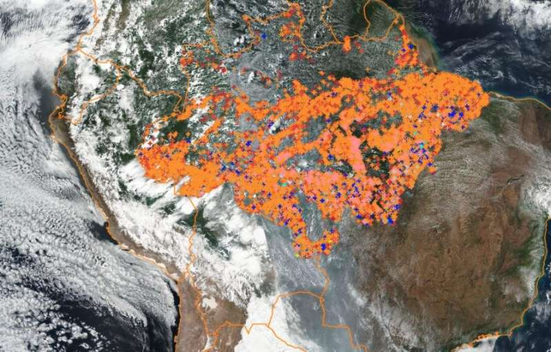 The big picture of the Amazon fires