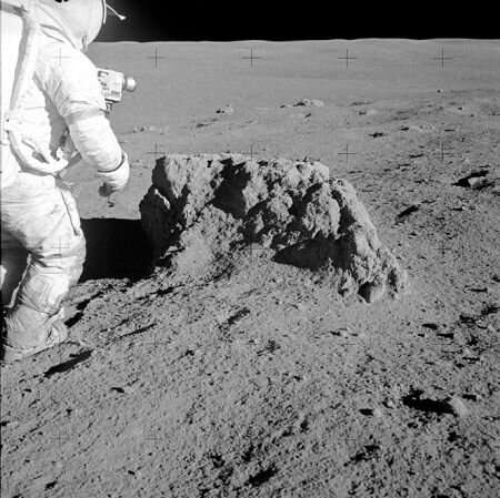 The moon rock that turned out to be from Earth