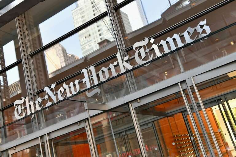 """The New York Times is expected to be absent from the news service likely to be launched by Apple and described as """"Netflix"""