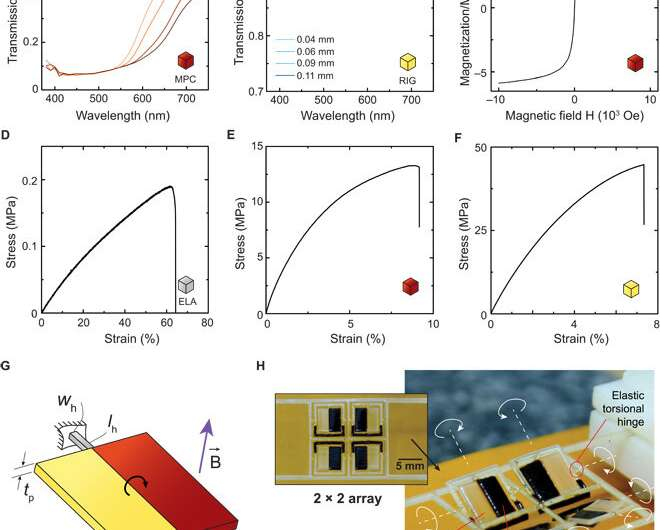 **Topology optimization and 3-D printing multimaterial magnetic actuators and displays
