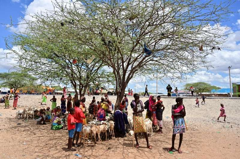Traditional Samburu tribes-people have endured climate variability for centuries