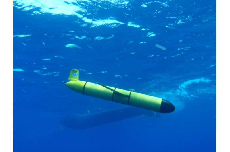 Underwater robotic gliders provide key tool to measure ocean sound levels
