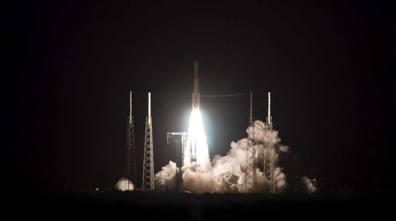 United Launch Alliance Atlas V rocket with Boeing's CST-100 Starliner spacecraft launches from Space Launch Complex 41, Friday,