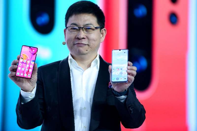 While Huawei is Chinese, its flaghsip P30 phone is a global creation, made up of components designed and manufactured around the