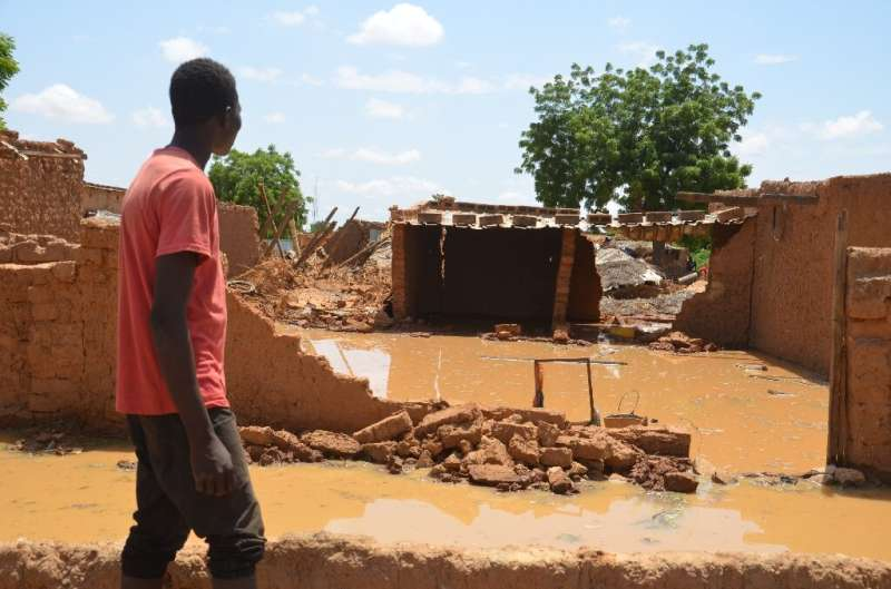 Extreme weather events are common in Niger, one of the world's poorest countries