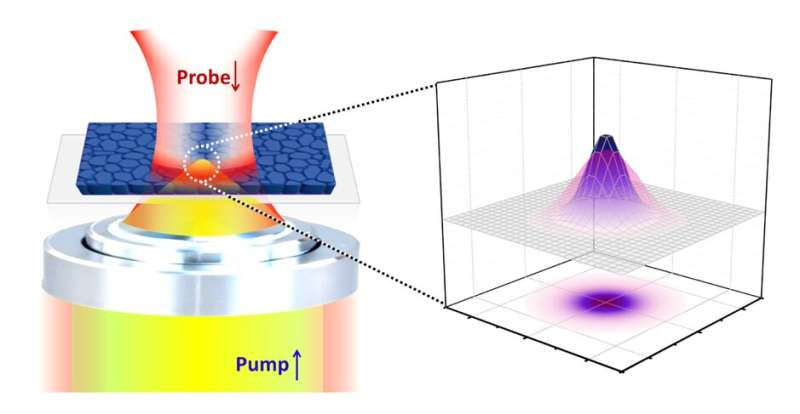 Study unveils new spatiotemporal dynamics of carriers in perovskite thin films