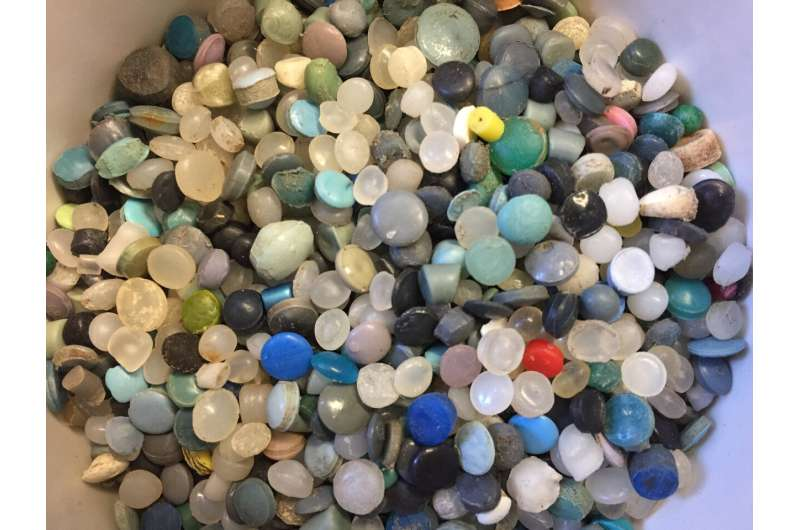 Microplastics in the Great Lakes: Becoming benthic