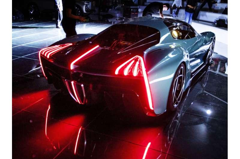 Climate change, trade woes reshape Frankfurt auto show