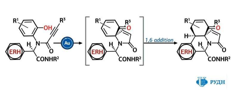 """RUDN University chemist invented a """"line production"""" method of synthesis of 28 biologically active molecules"""