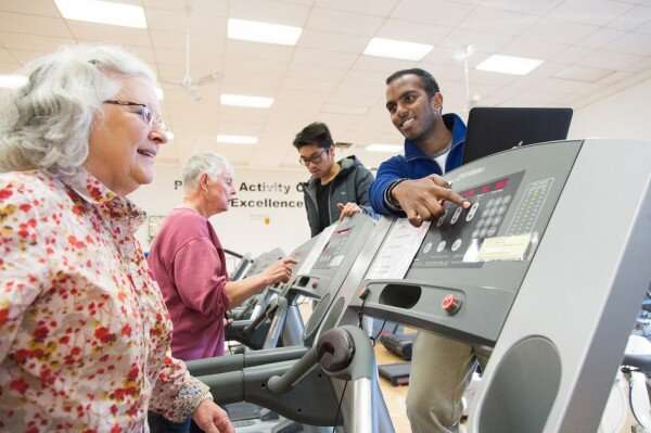 Researchers find high-intensity exercise improves memory in seniors