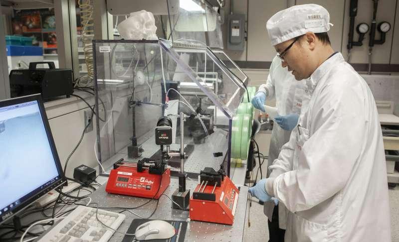 New treatment for brain tumors uses electrospun fiber
