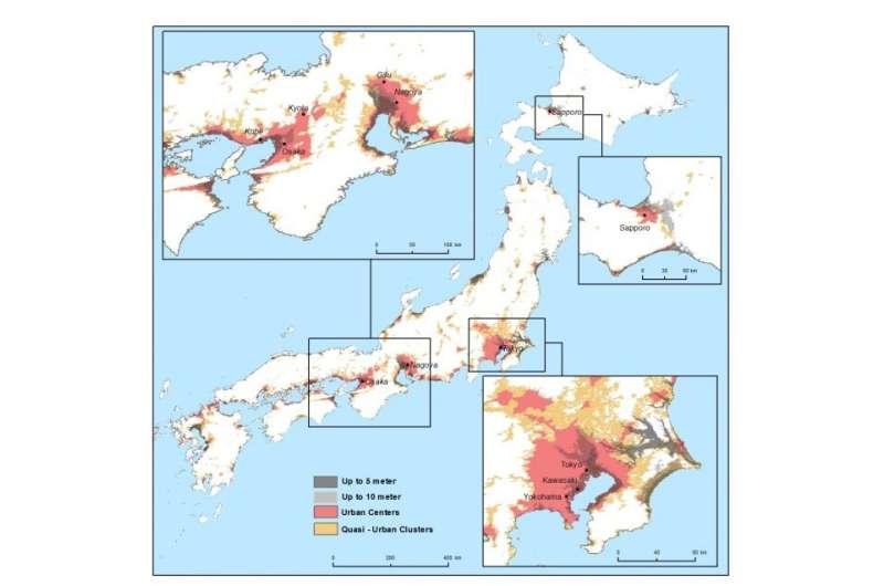Rising seas threaten low-lying coastal cities, 10% of world population