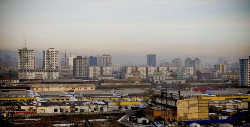 air pollution city