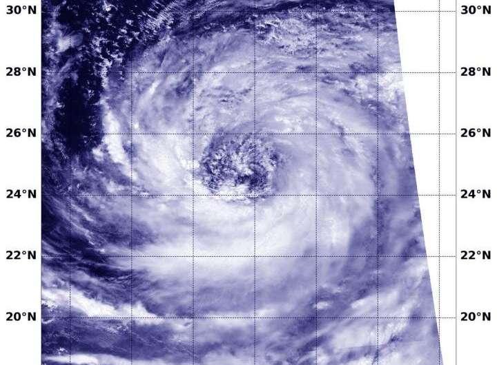 NASA-NOAA satellite views massive Tropical Storm Krosa