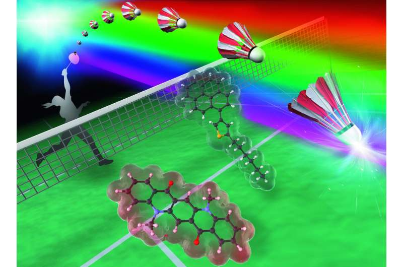 Researchers design tunable, self-recovering dyes for use in next-generation smart devices