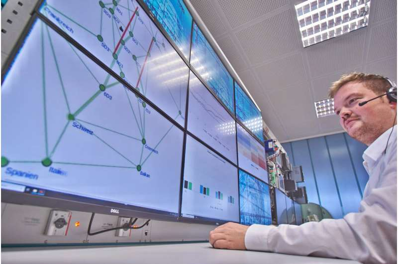Artificial intelligence automatically detects disturbances in power supply grids