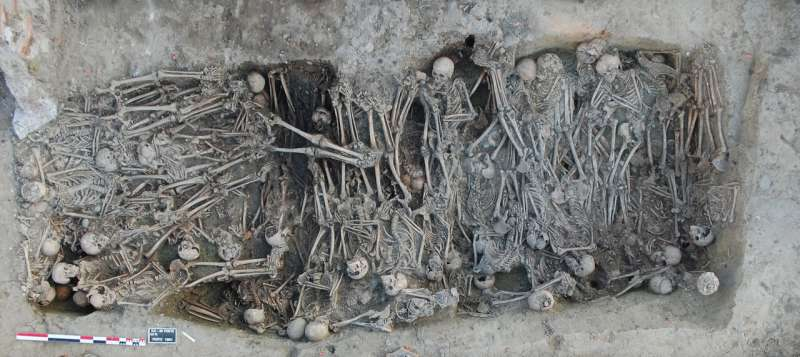 Ancient genomes provide insight into the genetic history of the second plague pandemic