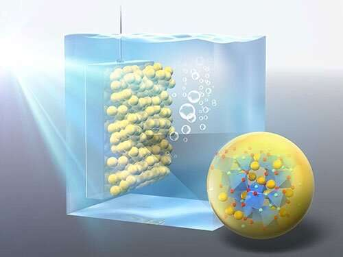 Breaking water molecules apart to generate clean fuel: Investigating a promising material