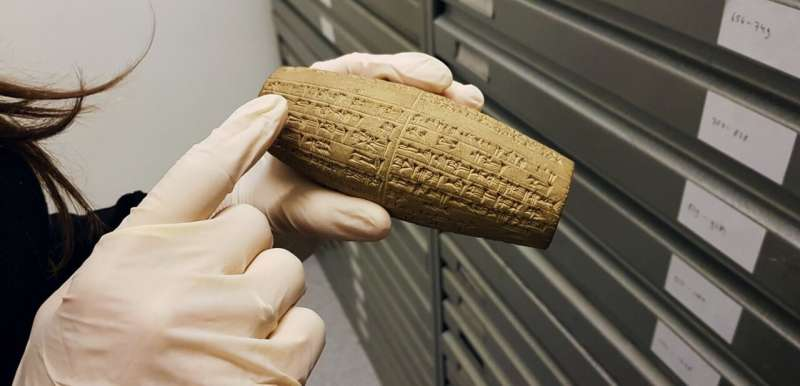 Cuneiform reveals shared birthplace