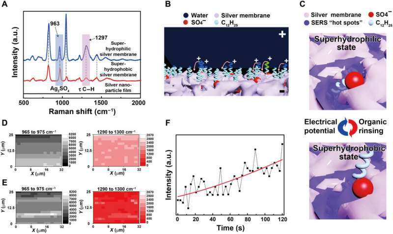 Electrodeposited surfaces with reversibly switching interfacial properties