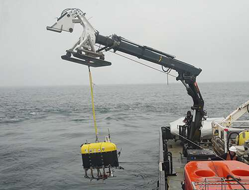 First sea trials of a revolutionary new undersea robot