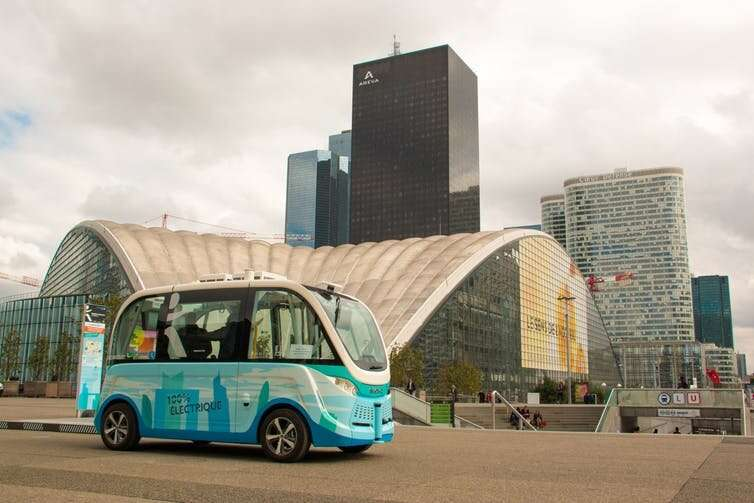 Four visions for the future of publictransport