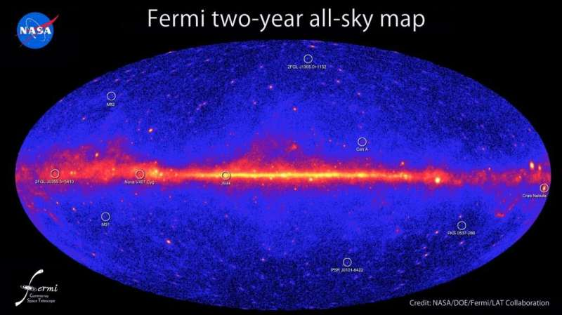 Gamma ray telescopes could detect starships powered by black hole