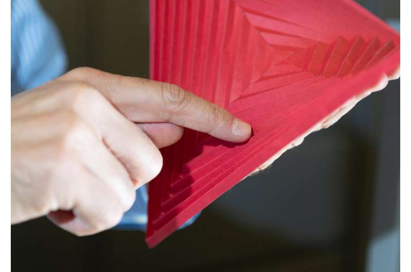 Hyperbolic paraboloid origami harnesses bistability to enable new applications