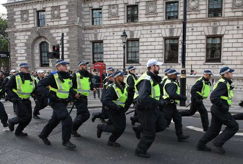 London's Metropolitan Police said the initiative will see it provide Facebook footage of training by its forearms command unit