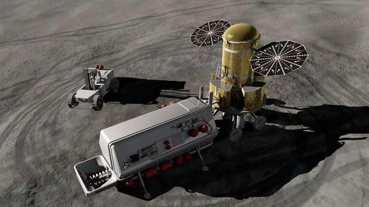 Mining the moon