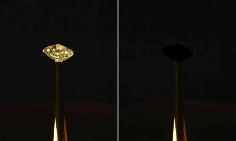 MIT engineers develop 'blackest black' material to date