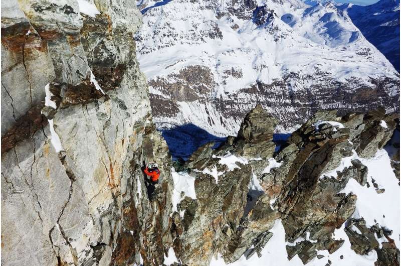 Monitoring the Matterhorn with millions of data points