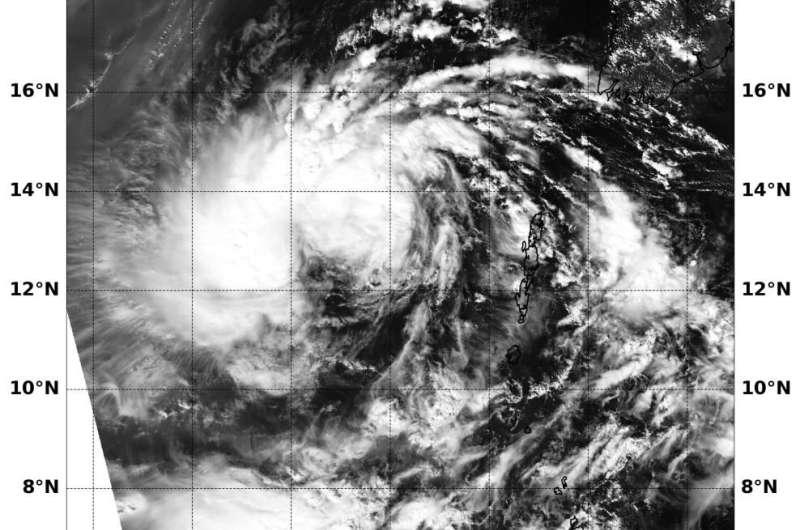 NASA tracking remnants of Tropical Cyclone Matmo