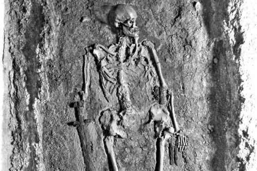 New evidence on contested identity of medieval skeleton found at Prague Castle