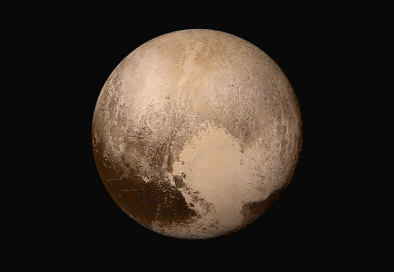 New Horizons team pieces together the best images they have of Pluto's far side