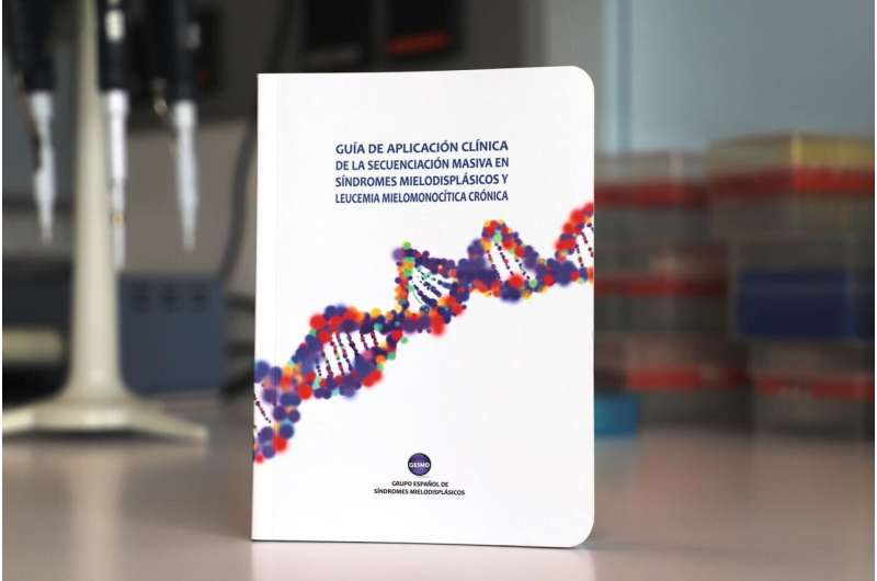 Published a clinical guide for the genomic diagnosis of Myelodysplastic Syndromes and Chronic Myelomonocytic leukaemia