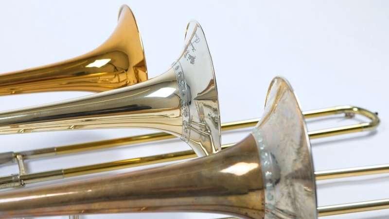 Reproduction of historical trombones - Romantic replicas