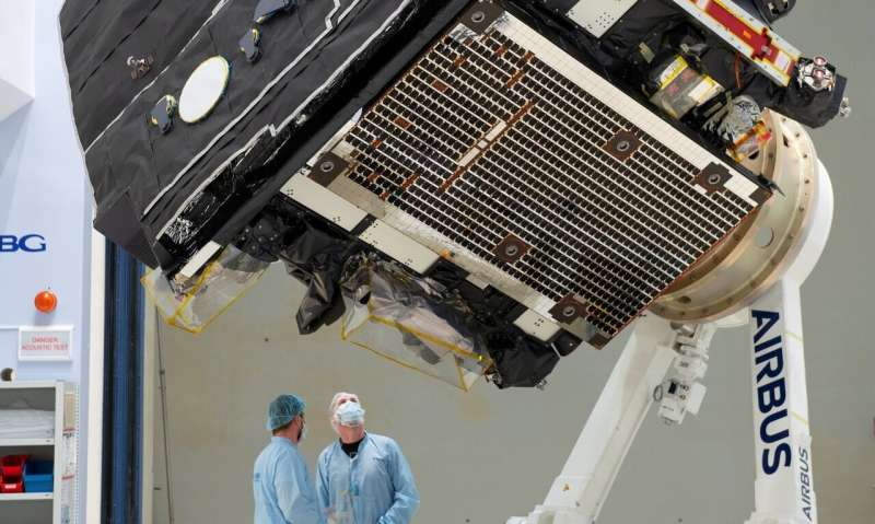 Solar orbiter ready to depart Europe