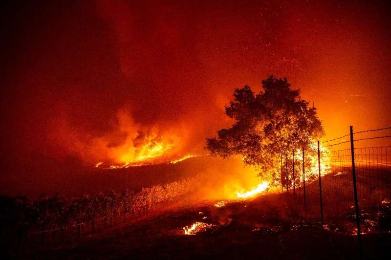 Some experts say wildfires such as the one currently raging in California will become more frequent because of climate change
