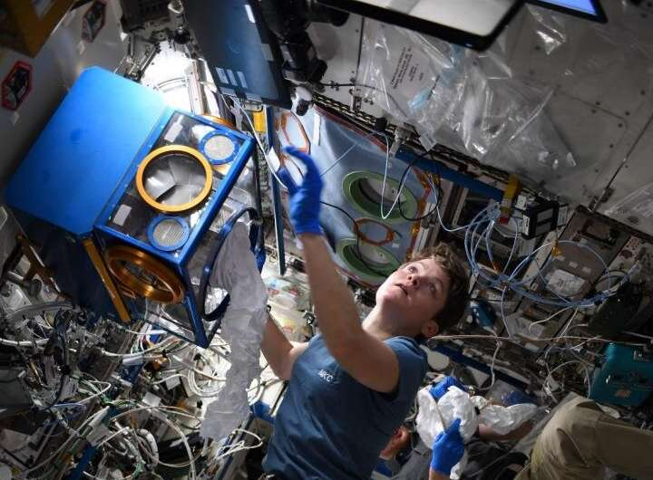Staying healthy longer in space