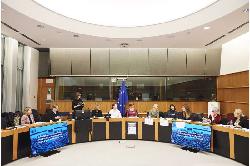 Study questions European Parliament's perception as champion of gender equality